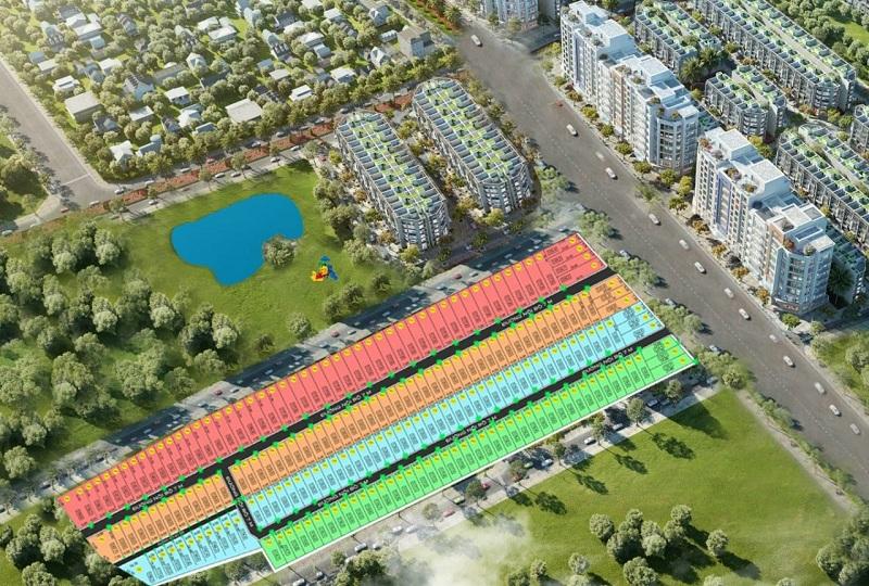 Phối cảnh dự án đất nền Dương Đông New City Phú Quốc