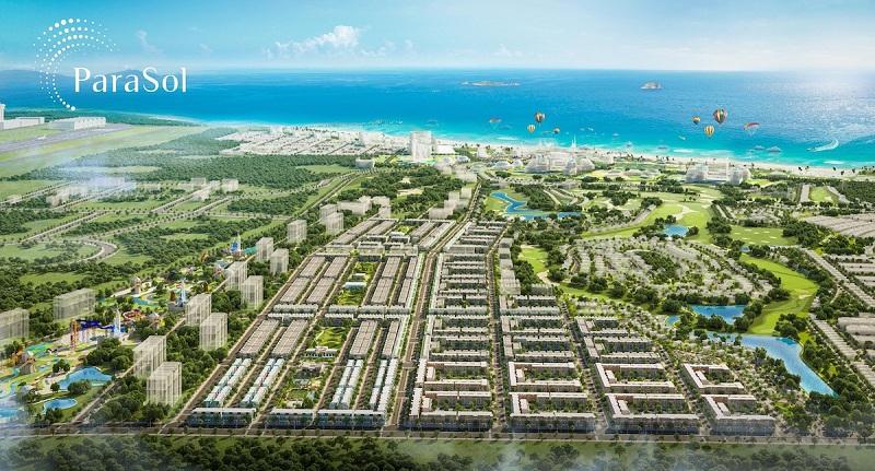 Phối cảnh dự án ParaSol KN Paradise Cam Ranh Khánh Hòa