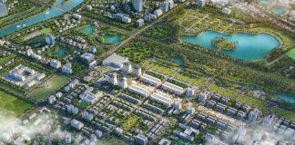Phối cảnh dự án HP Intermix Bắc Giang trong khu đô thị 100ha