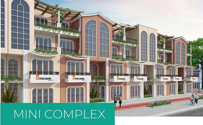 Phối cảnh Mini Complex dự án ParaSol KN Paradise Cam Ranh Khánh Hòa