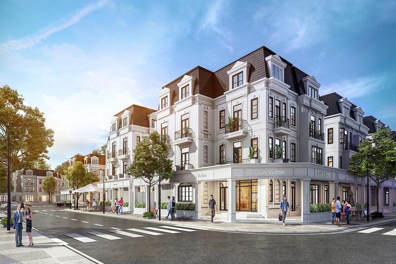Phối cảnh Shop Villas biệt thự Will State khu B Dương Nội - Tập đoàn Nam Cường
