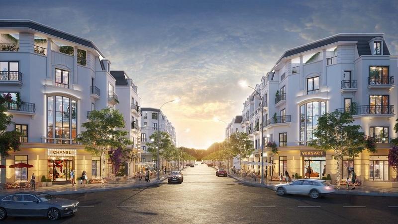 Shophouse dự án HP Galaxy 5A Đề Thám - Cao Bằng