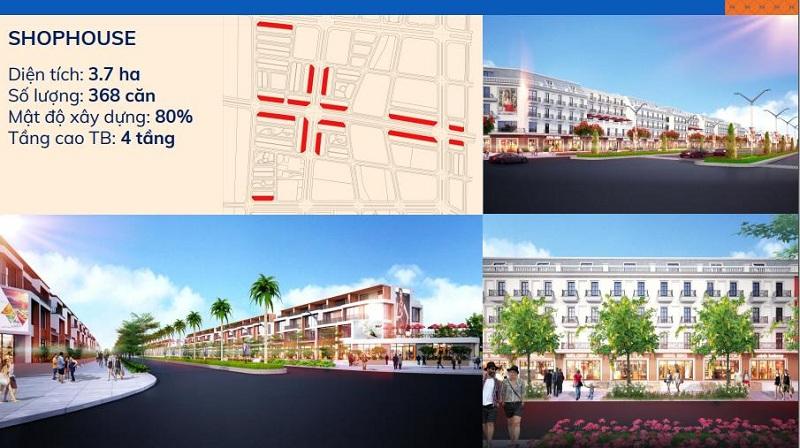 Shophouse dự án Kim Đô Policity Yên Phong - Bắc Ninh