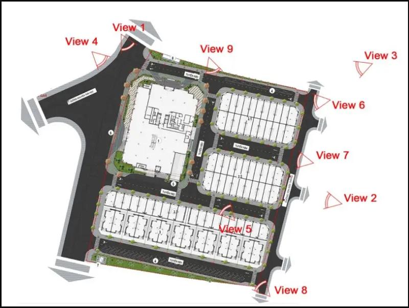 Tầm view rộng mở dự án Vinhomes Sky Park Bắc Giang