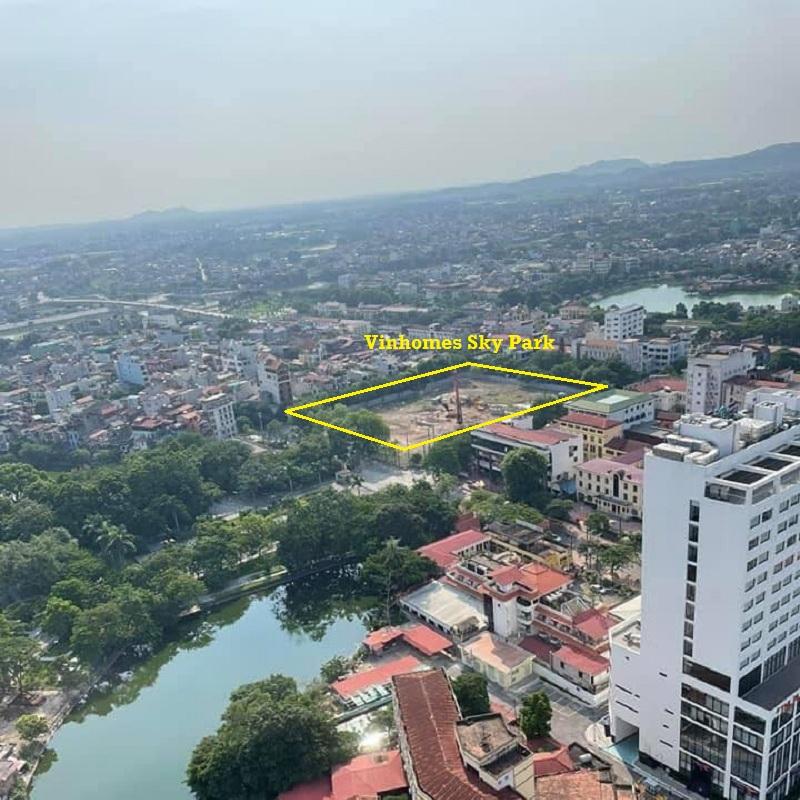 Tiến độ thực tế dự án Vinhomes Sky Park Bắc Giang