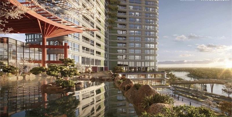 Tiện ích 2 dự án Shophouse khối đế Swan Lake Onsen Ecopark