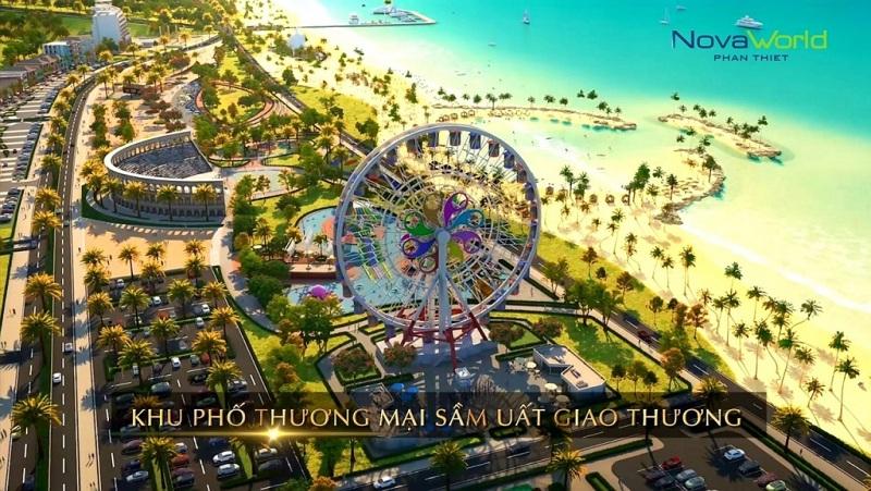 Tiện ích giải trí biệt thự Waikiki Novaworld Phan Thiết