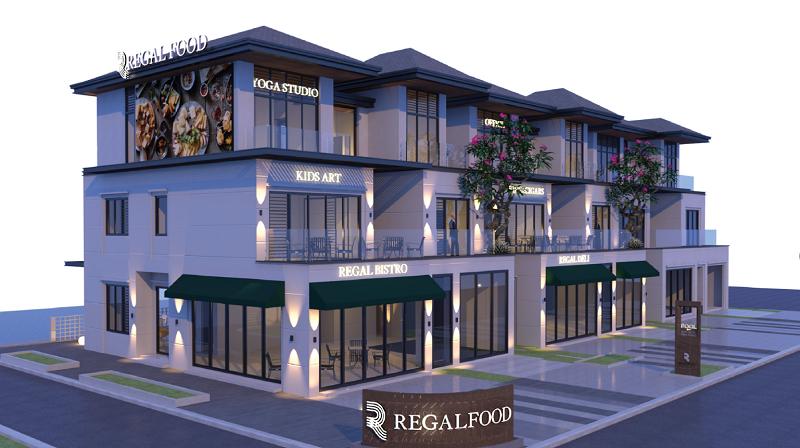 Tiện ích Regal Food của biệt thự Regal Victoria Quảng Nam