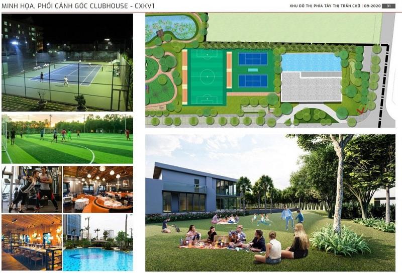 Tiện ích thể thao dự án Kim Đô Policity Yên Phong - Bắc Ninh