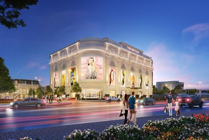 Trung tâm Vincom Plaza dự án Vinhomes Sky Park Bắc Giang