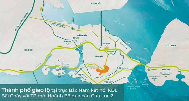 Vị trí dự án The Astro Hạ Long Bay - Bãi Cháy