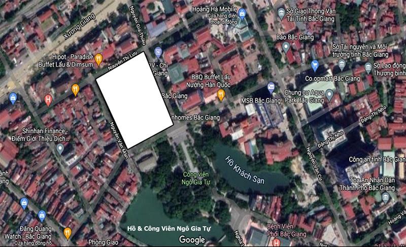 Vị trí dự án Vinhomes Sky Park Bắc Giang