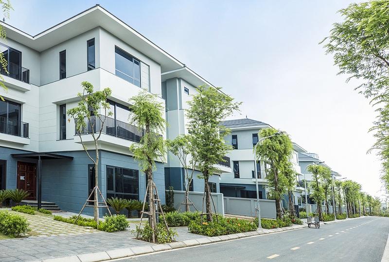 Ảnh thực tế 1 khu biệt thự ven hồ BT5 Luxury Villa Lakeside