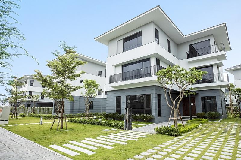 Ảnh thực tế 3 khu biệt thự ven hồ BT5 Luxury Villa Lakeside