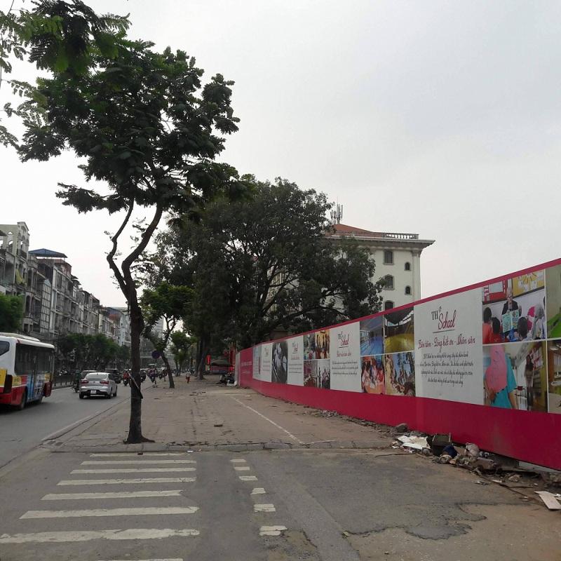 Ảnh thực tế công trường dự án chung cư Hà Nội Orchard Park số 6-8 Chùa Bộc