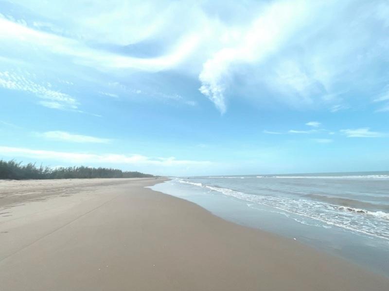 Bãi biển khu du lịch sinh thái Tân Dân - Nghi Sơn - Thanh Hóa của tập đoàn T&T Group