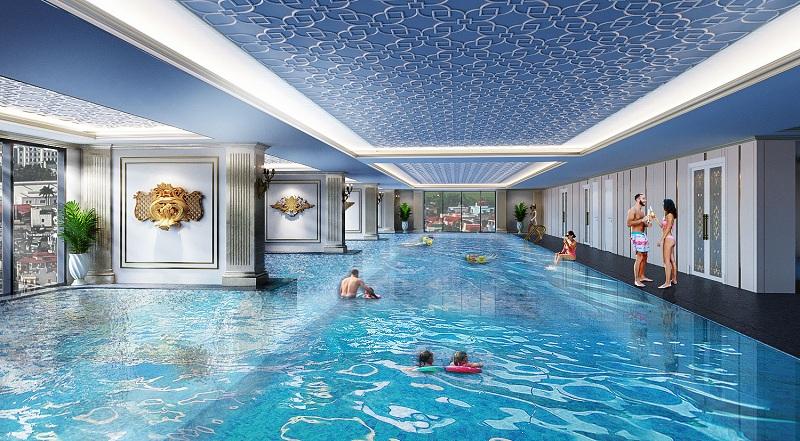 Bể bơi dự án BID Homes Eden Garden Lê Lợi - Thái Bình