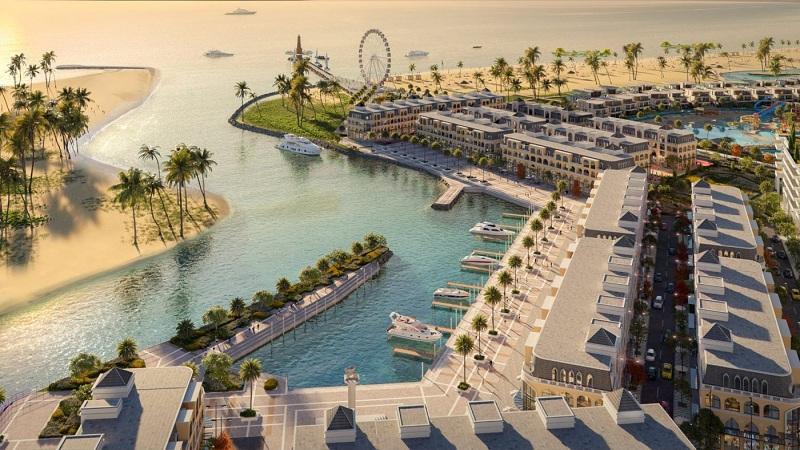 Bến du thuyền dự án Venezia Beach Hồ Tràm - Bình Châu