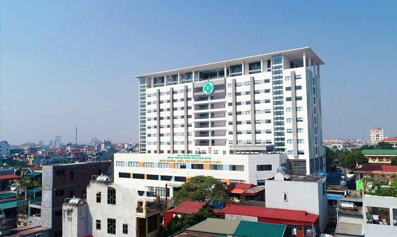 Bệnh viện tỉnh Thái Bình gần Venus Center City Trần Lãm