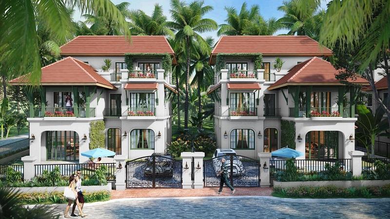 Biệt thự đơn lập dự án Sun Tropical Villages Bãi Kem - Wellness Second Homes Phú Quốc