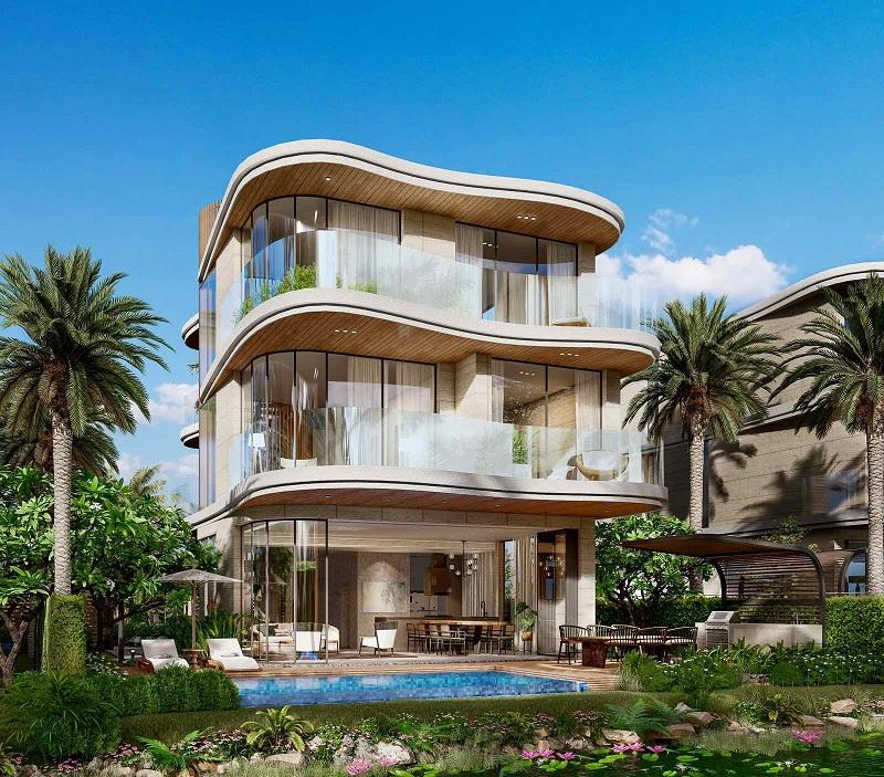 Biệt thự đơn lập dự án Venezia Beach Hồ Tràm - Bình Châu