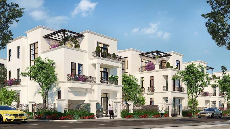 Biệt thự dự án Hoàng Huy New City Thủy Nguyên - Hải Phòng