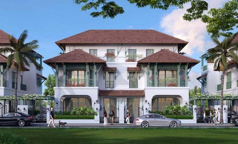 Biệt thự song lập dự án Sun Tropical Villages Bãi Kem - Wellness Second Homes Phú Quốc