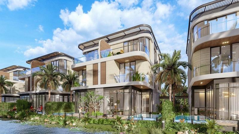 Biệt thự song lập dự án Venezia Beach Hồ Tràm - Bình Châu