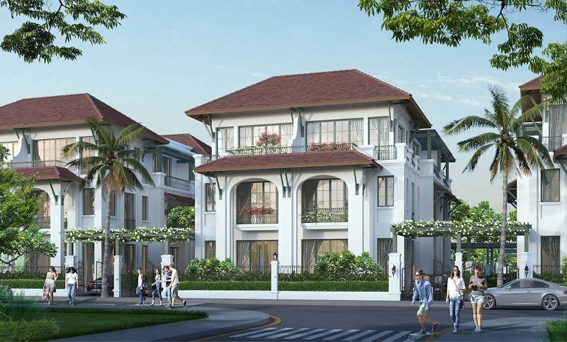 Biệt thự tứ lập dự án Sun Tropical Villages Bãi Kem - Wellness Second Homes Phú Quốc