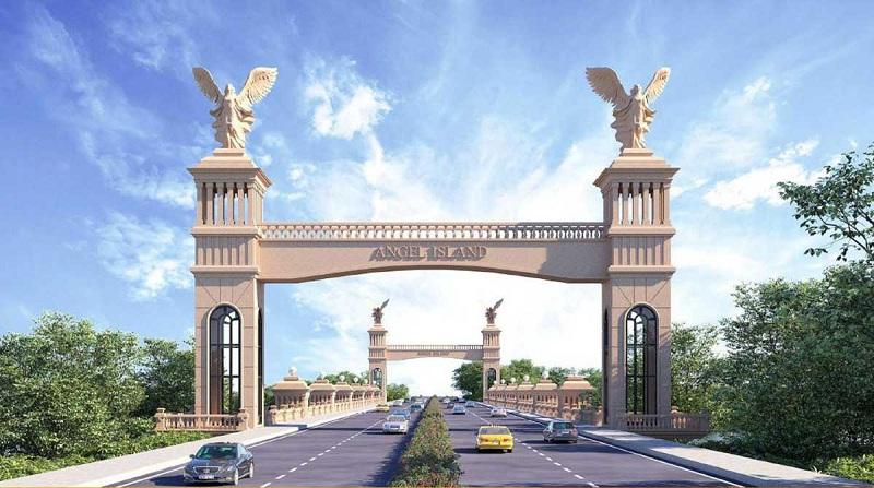 Cầu Angel dự án Angel Island Nhơn Trạch - Đồng Nai - The Saigon Eyes