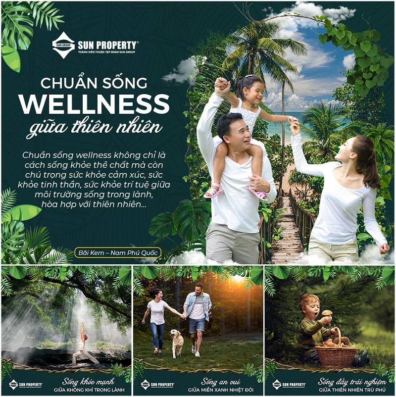 Chuẩn sống mới dự án Sun Tropical Villages Bãi Kem - Wellness Second Homes Phú Quốc