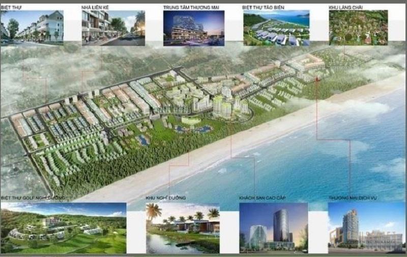 Cơ cấu sản phẩm khu du lịch sinh thái Tân Dân - Nghi Sơn - Thanh Hóa của tập đoàn T&T Group