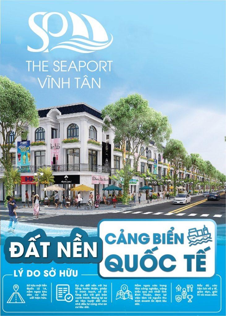 Có nên đầu tư dự án đất nền Seaport Vĩnh Tân - Bình Thuận?