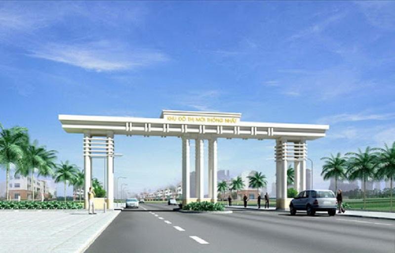 Cổng khu đô thị Thống Nhất - Nam Cường - Nam Định