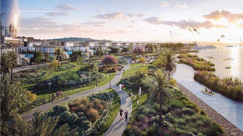Công viên Angel Park dự án Angel Island Nhơn Trạch - Đồng Nai - The Saigon Eyes