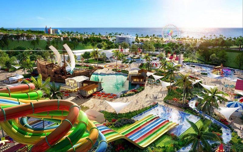 Công viên nước dự án Dragon Ocean Đồ Sơn - Hải Phòng - Geleximco