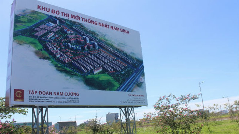 Dự án khu đô thị Thống Nhất - Nam Cường - Nam Định
