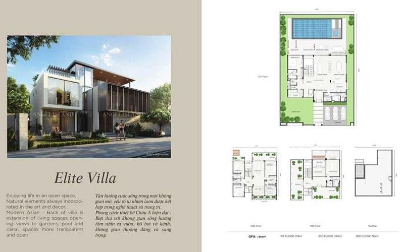 Elite Villa dự án Angel Island Nhơn Trạch - Đồng Nai - The Saigon Eyes