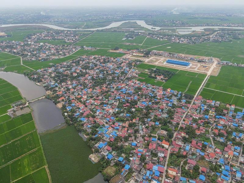 Flycam 2 Khu đô thị Lạc Long - Kinh Môn - Hải Dương