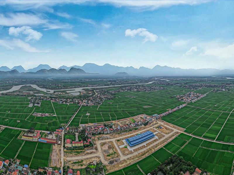 Flycam 3 Khu đô thị Lạc Long - Kinh Môn - Hải Dương