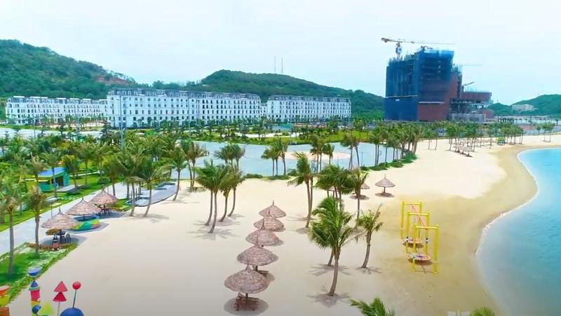 Flycam 3 tiến độ dự án Dragon Ocean Đồ Sơn - Hải Phòng - Geleximco