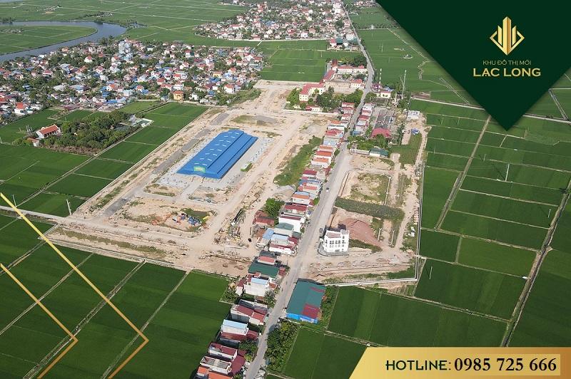 Flycam Khu đô thị Lạc Long - Kinh Môn - Hải Dương