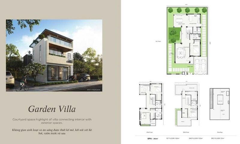 Garden Villa dự án Angel Island Nhơn Trạch - Đồng Nai - The Saigon Eyes