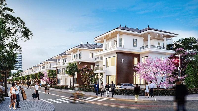 Hạ tầng giao thông dự án V Melody Villas Hòa Lạc - Thạch Thất