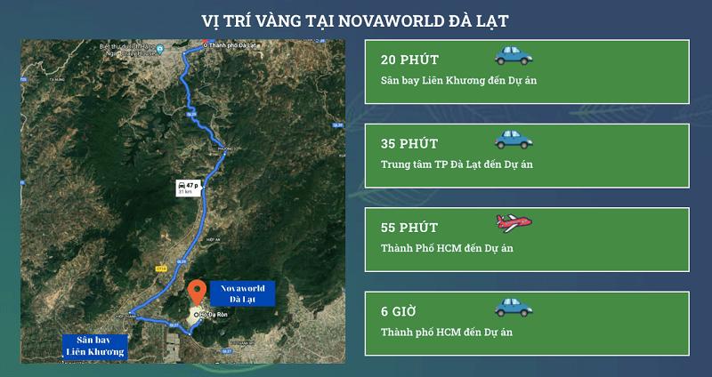 Kết nối dự án Novaworld Đà Lạt - Lâm Đồng