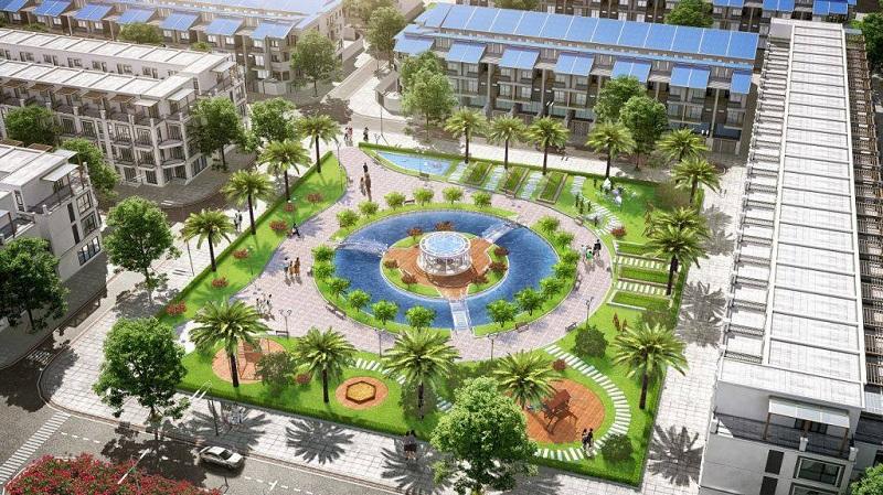 Không gian xanh dự án FLC Square World Bắc Giang