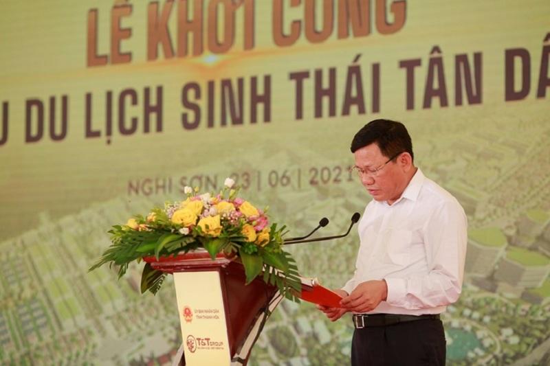 Lễ khởi công 2 khu du lịch sinh thái Tân Dân - Nghi Sơn - Thanh Hóa của tập đoàn T&T Group