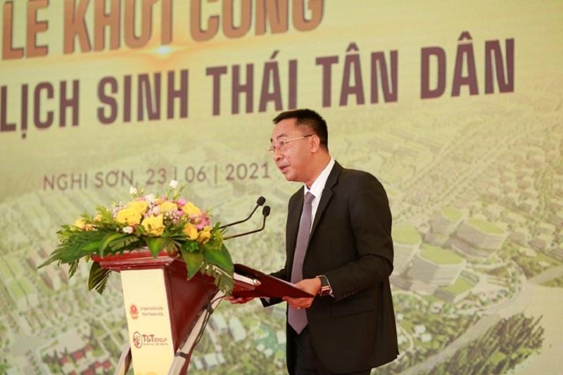 Lễ khởi công 3 khu du lịch sinh thái Tân Dân - Nghi Sơn - Thanh Hóa của tập đoàn T&T Group