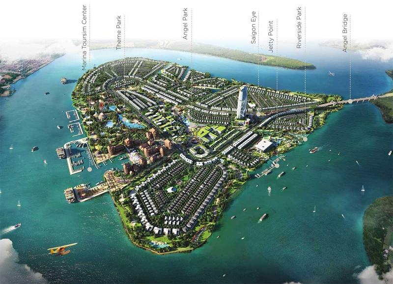 Mặt bằng dự án Angel Island Nhơn Trạch - Đồng Nai - The Saigon Eyes