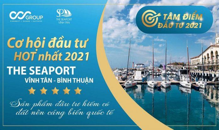 Mở bán dự án đất nền Seaport Vĩnh Tân - Bình Thuận